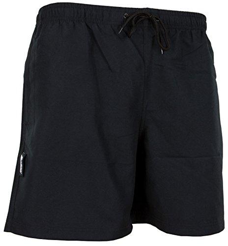 Luvanni Maillot de Bain pour Homme de materiau High-Tech Slip Shorts Kariert *differentes Couleurs* Colour Noir XL