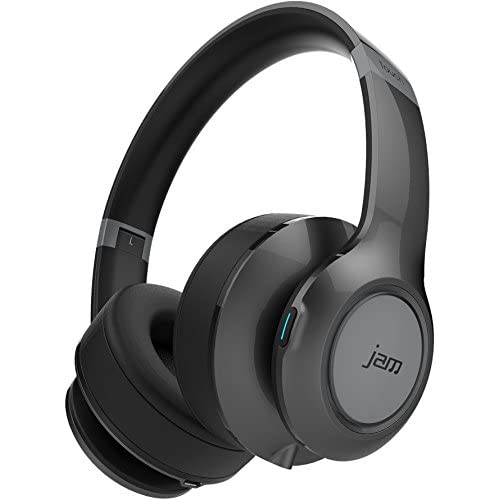 c11b5e8765c Jam Transit Touch Grey Wireless Bluetooth Over Ear Headphones with  Microphone - HX-HP910GY