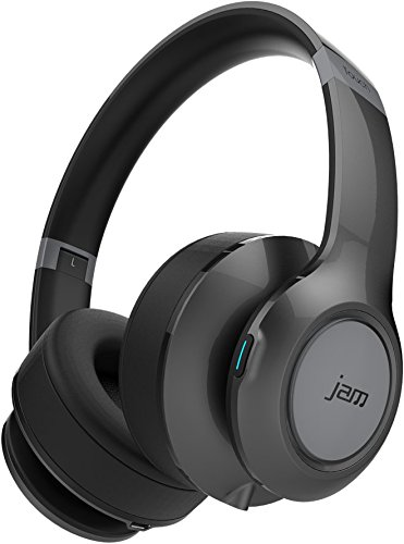 JAM TRANSIT TOUCH Cuffie on-ear bluetooth wireless ricaricabili, Grigio