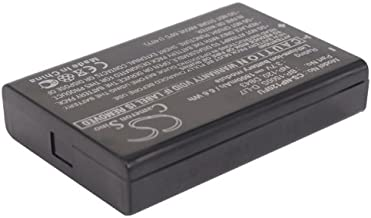 Rechargeable Battery BP-1500S Replacement for Kyocera Contax Tvs Digital (3.7v 1800mAh)