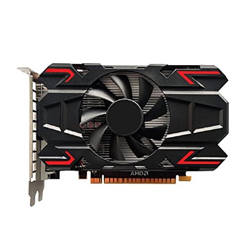 Valcano Scheda grafica professionale HD7670 1GB DDR5 128 bit 1 GB DDR5 128 bit, memoria video a basso rumore per AMD, frequenza 1000 MHz, con slot per