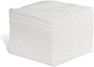 WIP950 18 x 14 New Pig Corporation White 18 x 14 New Pig PR100 Disposable Polishing /& Wiping Cloths 300 Wipers Extra-Heavy-Duty
