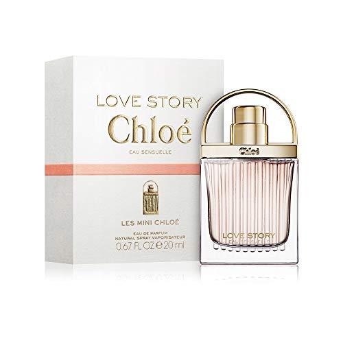 Chloé Love Story Eau Sensuelle Eau de Parfum femme woman, 1er Pack (1 x 20 ml)
