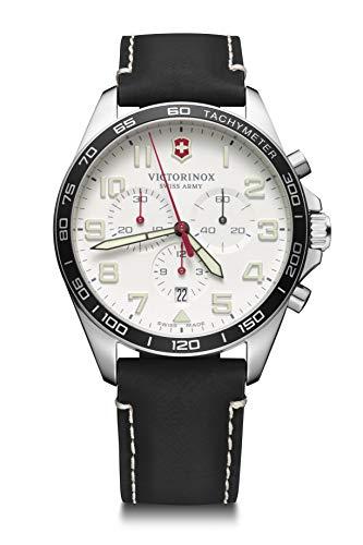 Victorinox Hombre Field Force Chronograph - Reloj de Acero Inoxidable de Cuarzo analógico de fabricación Suiza 241853