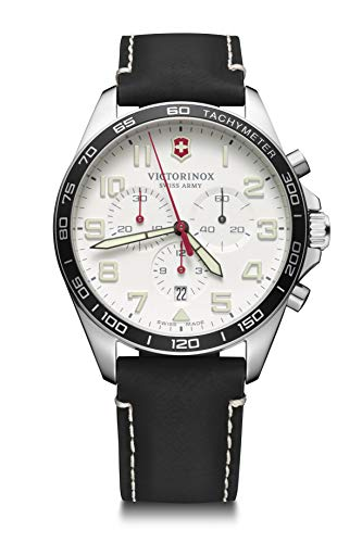 Victorinox Herren Field Force Chronograph - Swiss Made Analog Quarz Edelstahl Uhr 241853