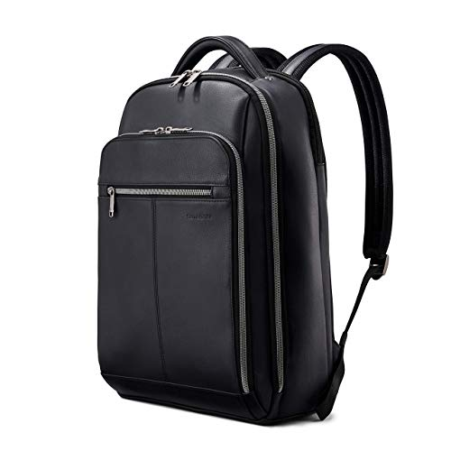 Samsonite Classic Leather Backpack for Adults,Older Children