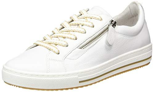 Gabor Shoes Damen Comfort Basic Sneaker, Weiß (Weiss (Beige) 60), 41 EU