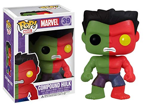 Funko POP! Vinyl Marvel: Compound Hulk Action Figure Toy Anxiety Exclusive image