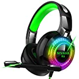 Best Xbox One Headphones - Nivava Gaming Headset for PS4, Xbox One, PC Review