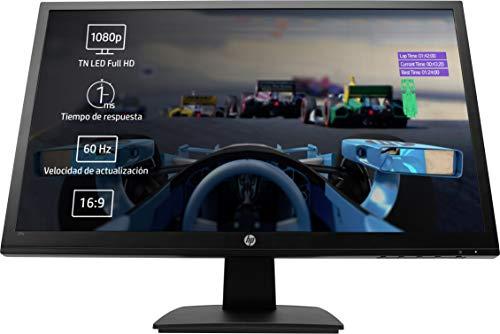 HP 27o - Monitor de 27' (LED, Full HD, tiempo de respuesta 1 ms) color negro