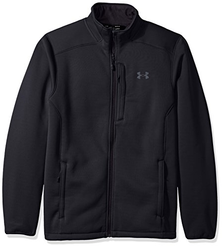 Under Armour - - Veste Extreme Coldgear pour Homme, XXX-Large, Black/Rhino Gray