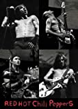 Close Up Red Hot Chili Peppers Poster Live - Collage (b/w)