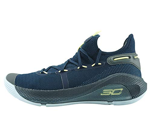 Under Armour Curry 6 Basketball Shoes - 11 - Navy Blue