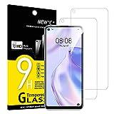 NEW'C 2 Unidades, Protector de Pantalla para Huawei P40 Lite 5G, Antiarañazos, Antihuellas, Sin Burbujas, Dureza 9H, 0.33 mm Ultra Transparente, Vidrio Templado Ultra Resistente