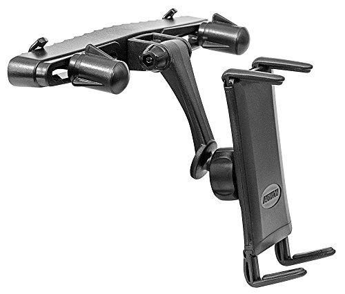 Arkon Midsize tablet per poggiatesta auto per iPad Mini, Galaxy Tab S Tab Plus 437.08.0colore nero