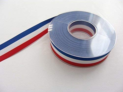 E+N Nationalband Flaggenband Frankreich/USA, BxL: 15mmx25m