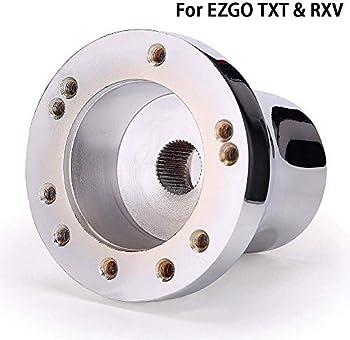 10L0L Golf Cart Steering Wheel Adapter for EZGO TXT & RXV
