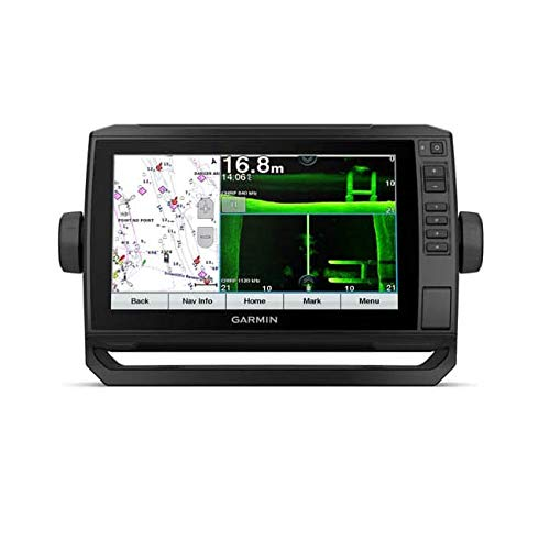 """Price comparison product image Garmin ECHOMAP UHD 92SV,  9"""" Keyed-Assist Touchscreen Chartplotter with Worldwide Basemap and GT54UHD-TM Transducer"""