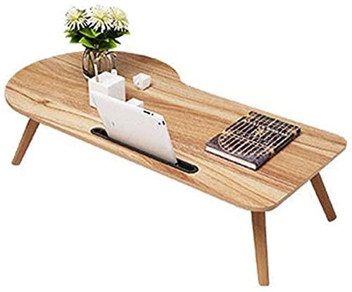 Mesas finales para ordenador portátil, mesa de trabajo, mini escritorio, escritorio, escritorio, dormitorio, aspecto de madera, muebles de madera de roble rústico