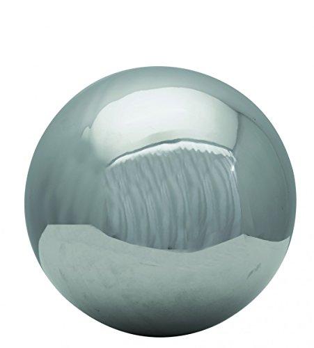 Starke Dekokugel Edelstahl Kugel Silber Gartenkugel Schwimmkugel Dekorationskugel, Durchmesser/Ausführung:25 / poliert