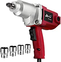 EVERDRAGON 7.5 A 1/2-Inch Corded Electric Impact Wrench - MAX.230 Ft-Lbs - Heavy Duty Impact Wrench Gun with Sockets & Carrying Blow Mould Case For DIY