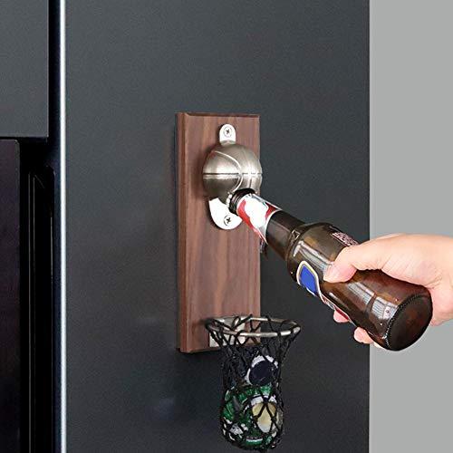 Fiaoen Pegatina para abrebotellas, innovadora y versátil para frigorífico, abridor de chupitos, adhesivo para bar, restaurante y hogar, excelente