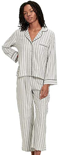 UGG Women's Katharine Set Stripe, Cream/black, L