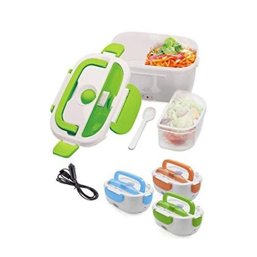 Fast World Shopping - Boîte électrique portable, chauffe-plat pour chauffer la nourriture dans votre voiture, 12 V