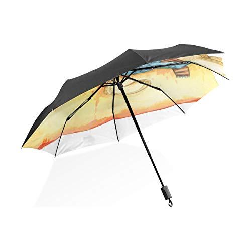 Übergroße Regenschirm kleine süße Maus Ratte Tier tragbare kompakte Taschenschirm Anti-Uv-Schutz Winddicht Outdoor-Reisen Frauen Regenschirme