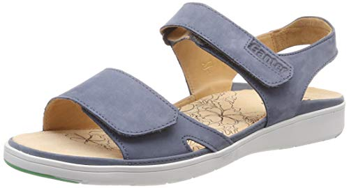 Ganter Damen GINA-G Offene Sandalen, Blau (Jeans), 40 EU