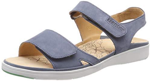 Ganter Damen GINA-G Offene Sandalen, Blau (Jeans), 37 EU