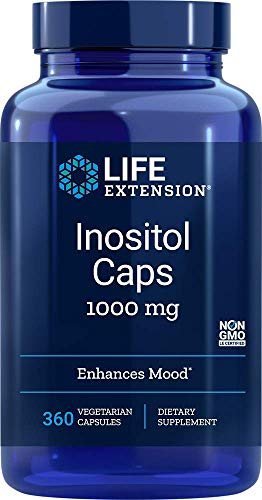 Life Extension, Inositol, 1.000 mg, 360 vegetarische Kapseln