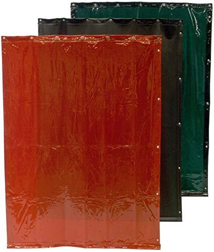 CEPRO 16.15.18.0010 Cortina de soldadura - 1800 mm x 1400 mm, naranja