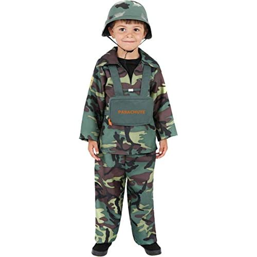 Armed Forces Boys Uniform Camouflage Children Book Week Day Costume
