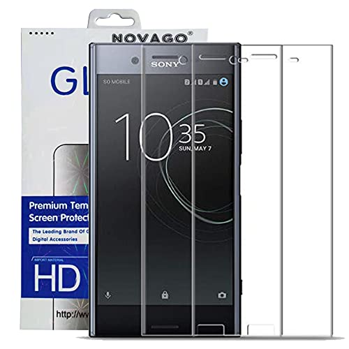 NOVAGO compatible con Sony Xperia XZ PREMIUM – Lote de 2 protectores...