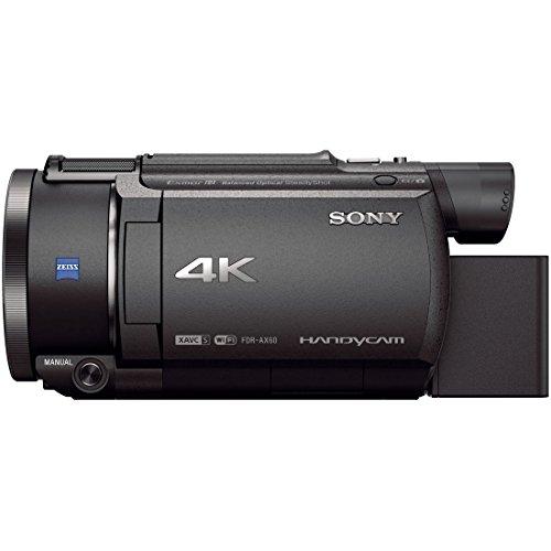 ソニービデオカメラFDR-AX604K64GB光学20倍ブラックHandycamFDR-AX60B