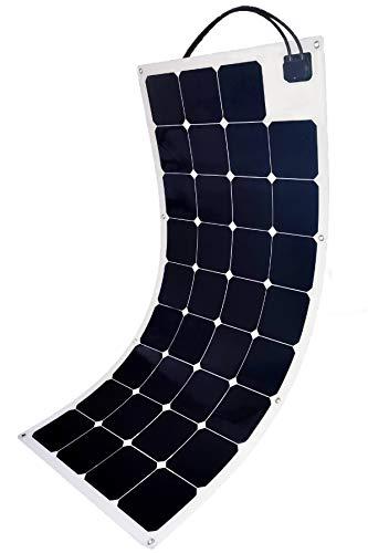 Sol-Go - Pannelli solari flessibili 115 W, 12 V, alimentazione solare off-grid compatibile con centralina portatile, batteria da 12 V o 24 V, progettata e progettata negli Stati Uniti