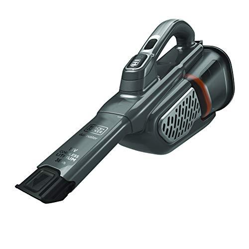 Black + Decker, aufladbarer Zyklon-Handstaubsauger mit Zubehör 36 Wh mit Basis 18V
