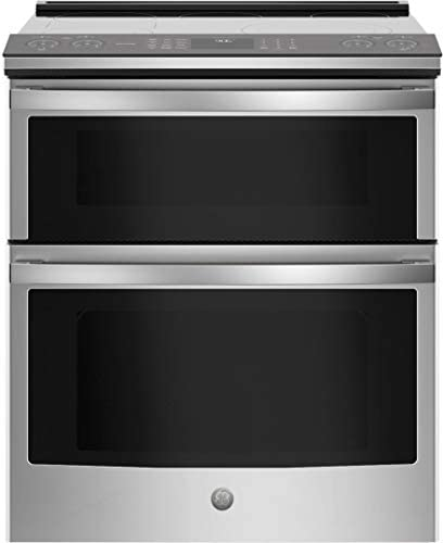 GE Profile PS960YPFS 30 Slide in Electric Double Oven Convection Range with 6 6 cu ft Total product image