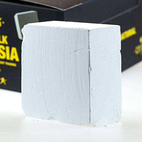C.P.Sports Magnesia 70g Block, Chalk Block, Powder