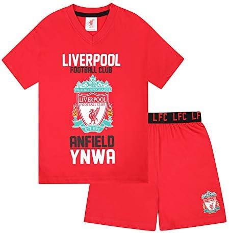 Liverpool FC - Pijama corto para niño - Rojo