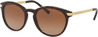 مايكل كورس MK2023 نظارة شمسية دائرية للنساء + مجموعة نظارات مجانية
