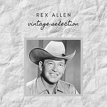 Rex Allen - Vintage Selection