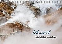 Island - rauhe Schoenheit zum Verlieben (Tischkalender 2022 DIN A5 quer): Weite, Gletscher und Vulkane - Islands faszinierende Landschaften (Monatskalender, 14 Seiten )