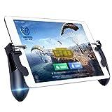 GJWHENS Mobile Dispositivo de Juego, para de PUBG, Objetivo y Disparar gatillo, para Xiaomi/iPhone/Samsung/Android/iPad,Negro