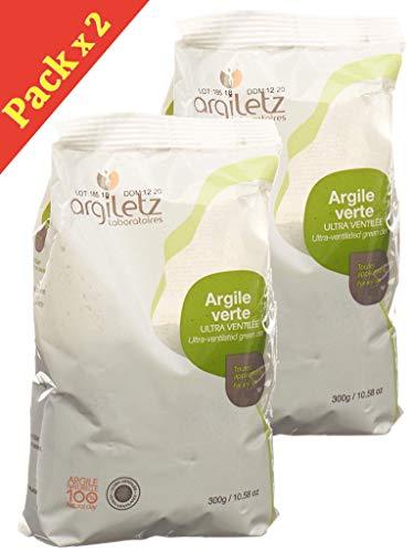 Argiletz Ultra Ventilée Argile Vert 300 g Lot de 2