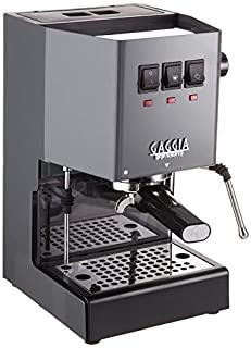 Gaggia RI9380/51 Classic Pro Espresso Machine, Industrial Grey (B086H42T3V) | Amazon price tracker / tracking, Amazon price history charts, Amazon price watches, Amazon price drop alerts