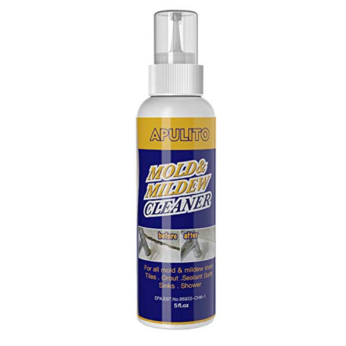 APULITO Mold & Mildew Remover Gel Household Cleaner Bathroom Tiles Stain Grout Sealant Cleaning