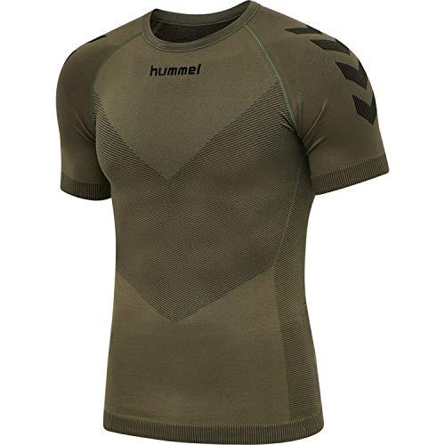 Hummel F6084 - Maglia senza cuciture, colore: Verde