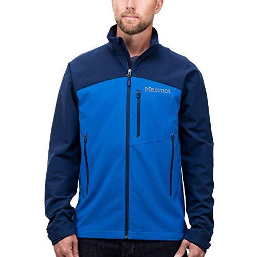 Marmot Men's Softshell Jacket (True Blue/Arctic Navy, Large)